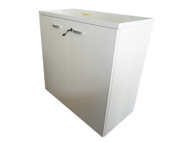 QF Low Cabinet White Finish
